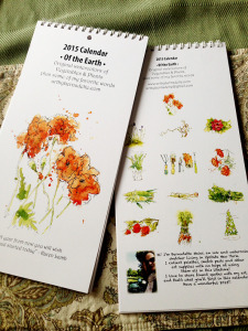 2015 calendar proof art by bernadette 8x10