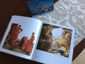 The book, opened to one of my favorite photos!
